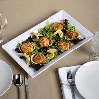 Elite Global Solutions Q2-V1710 Vogue 17 1/4 inch x 10 1/2 inch Rectangular Serving Platter