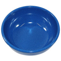 Elite Global Solutions D512B-BC Base Camp 18 oz. Blue Round Speckle Bowl   - 6/Case