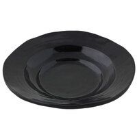 Elite Global Solutions DB7 Della Terra 6 oz. Black Irregular Round Bowl
