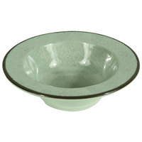 Elite Global Solutions DB6M Mojave Vintage California 10 oz. Hemlock Round Crackle Bowl - 6/Case