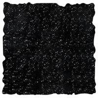 Elite Global Solutions QS2424 Fo Granite Black Granite 23 3/4 inch Square Shape Riser Platter