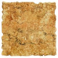 Elite Global Solutions QS2424 Fo Granite Rustic Granite 23 3/4 inch Square Shape Riser Platter