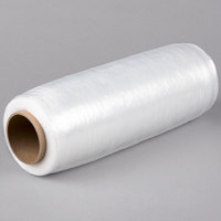 Lavex Industrial 15 inch x 1476' 30 Gauge Eco-Friendly Pre-Stretched Pallet Wrap / Stretch Film - 4/Case