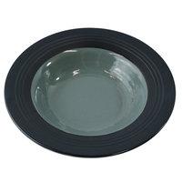Elite Global Solutions DB651GM Durango 10 oz. Abyss & Lapis Round Two-Tone Melamine Bowl - 6/Case