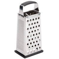 Tablecraft SG205BH 9 inch 4-Sided Heavy-Duty Stainless Steel Box Grater