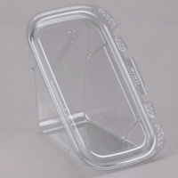 Tamper-Evident Recycled PET Sandwich Wedge Container - 200/Case