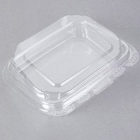 13 oz. Tamper-Evident Recycled PET Clear Take Out Container - 200/Case