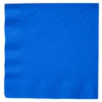 Creative Converting 593147B Cobalt 3-Ply Paper Dinner Napkins - 250 / Case