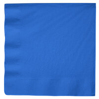 Creative Converting 59145B True Blue 3-Ply Paper Dinner Napkins - 250 / Case