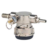 Micro Matic FT44T-PR D System Low-Profile Beer Keg Coupler with Twist Activation