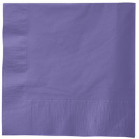 Creative Converting 58115B Purple 3-Ply 1/4 Fold Luncheon Napkin - 500/Case