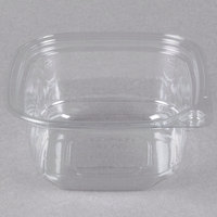 12 oz. Square Recycled PET Deli Container - 50/Pack