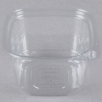 16 oz. Square Recycled PET Deli Container - 50/Pack