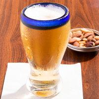 Libbey 92312 Aruba 12 oz. Beer Glass with Cobalt Rim - 12/Case