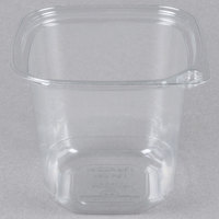 24 oz. Square Recycled PET Deli Container - 50/Pack