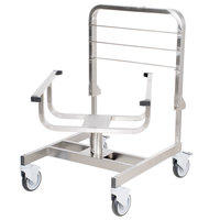 Robot Coupe 49066 Stainless Steel Food Processor Pan Cart