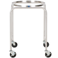Vollrath 79001 Stainless Steel Mobile Mixing Bowl Stand for 30 Qt. Bowl