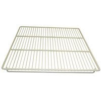 Continental Refrigerator 5-267 27 1/2 inch x 16 1/2 inch Epoxy-Coated Steel Shelf with Clips