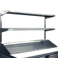 Continental Refrigerator DOS72 72 inch x 16 inch Double Overshelf