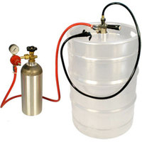 Micro Matic EZ-TAP-H Keg Party Dispensing System with CO2 Cylinder and Plastic Squeeze-Trigger Faucet - D System