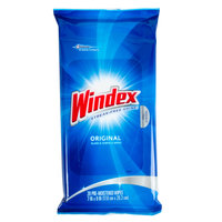 SC Johnson Windex CB702325 Single Use Multi Surface Glass Wipes