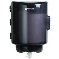 San Jamar T420TBK Center Pull Towel Dispenser - Black Pearl