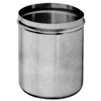 All Points 66-332 3 Qt. Stainless Steel Condiment Pump Jar