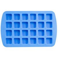 Wilton 2105-4890 Easy-Flex Silicone 24-Compartment Square Cavity Mold