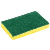 3M 74CC Scotch-Brite 6 1/8 inch x 3 5/8 inch Medium-Duty Scrub Sponge - 10/Pack