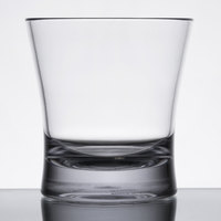 Carlisle 560907 Alibi 9 oz. SAN Plastic Rocks Glass - 24/Case