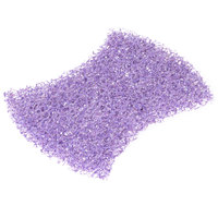 3M 2020CC Scotch-Brite™ 4 1/2 inch x 2 13/16 inch Heavy-Duty Purple Scour Pad - 40/Case