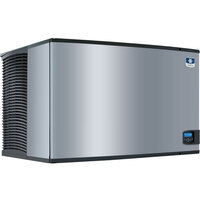 Manitowoc IY-1406A Indigo Series 48 inch Air Cooled Half Size Cube Ice Machine - 208V, 3 Phase, 1659 lb.