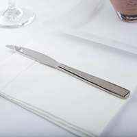 Arcoroc T1808 Vesca 8 1/8 inch 18/10 Stainless Steel Extra Heavy Weight Dessert Knife by Arc Cardinal - 12/Case