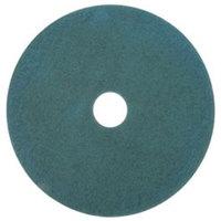 3M 3100 28 inch Aqua Burnishing Floor Pad - 5/Case