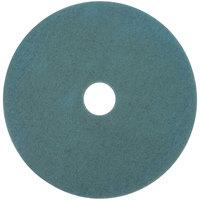 3M 3100 24 inch Aqua Burnishing Floor Pad - 5/Case