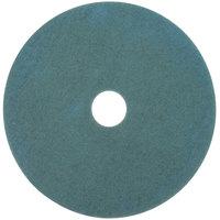3M 3100 17 inch Aqua Burnishing Floor Pad - 5/Case