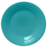 Homer Laughlin 465107 Fiesta Turquoise 9 inch Luncheon Plate - 12/Case