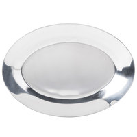 8 inch x 11 inch Oval Aluminum Sizzler Platter