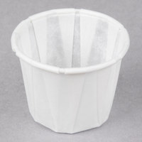 Genpak F075 .75 oz. Harvest Paper Souffle / Portion Cup - 250/Pack