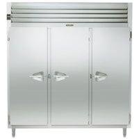 Traulsen AHT332NPUT-FHS 73.1 Cu. Ft. Three Section Solid Door Narrow Pass-Through Refrigerator - Specification Line