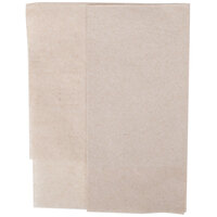 Kraft Natural Side-Fold 1-Ply Dispenser Napkin - 250 / Pack