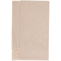 Morcon D213-KFT Kraft Natural Mini-Fold 1-Ply Dispenser Napkin   - 250/Pack