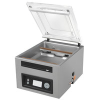 "Vollrath 40834 Chamber Vacuum Packaging Machine with Dual 16"" Sealing Bars and Advanced Control System"