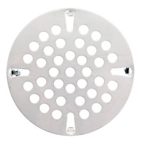 3 1/2 inch Flat Strainer for Twist / Lever Handle Valve Drains
