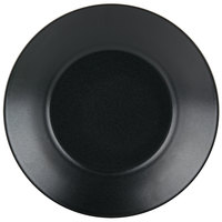 Hall China 300810AFCA Foundry 61 oz. Black Ceramic Options Bowl - 12 / Case