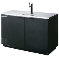 Beverage-Air DD50-1-B Kegerator Beer Dispenser - Black, (2) 1/2 Keg Capacity