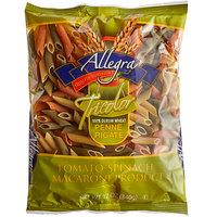 12 oz. Bag Tricolor Penne Rigate Pasta - 12/Case