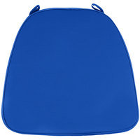Lancaster Table & Seating Royal Blue Chiavari Chair Cushion - 1 3/4 inch Thick