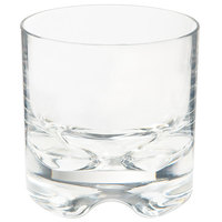 GET SW-1429-1-SAN-CL Roc N' Roll 10 oz. Clear SAN Plastic Rocks Glass   - 24/Case