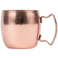 World Tableware CMM-101 2 oz. Moscow Mule Shot Mug with Copper Finish - 12/Case